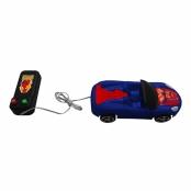 Carro de Controle Remoto com Fio Spider Man Etitoys Marvel